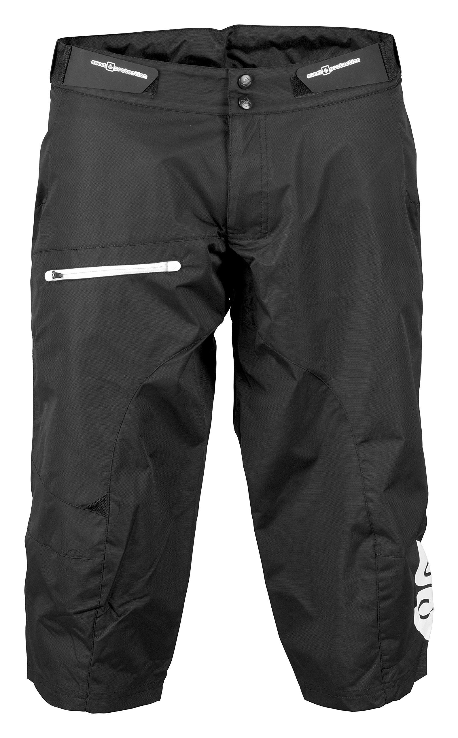 Sweet Protection Shambala Paddle Shorts, True Black, X-Large by Sweet Protection