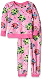 Shopkins Big Girls' Little 2-Piece Pajama