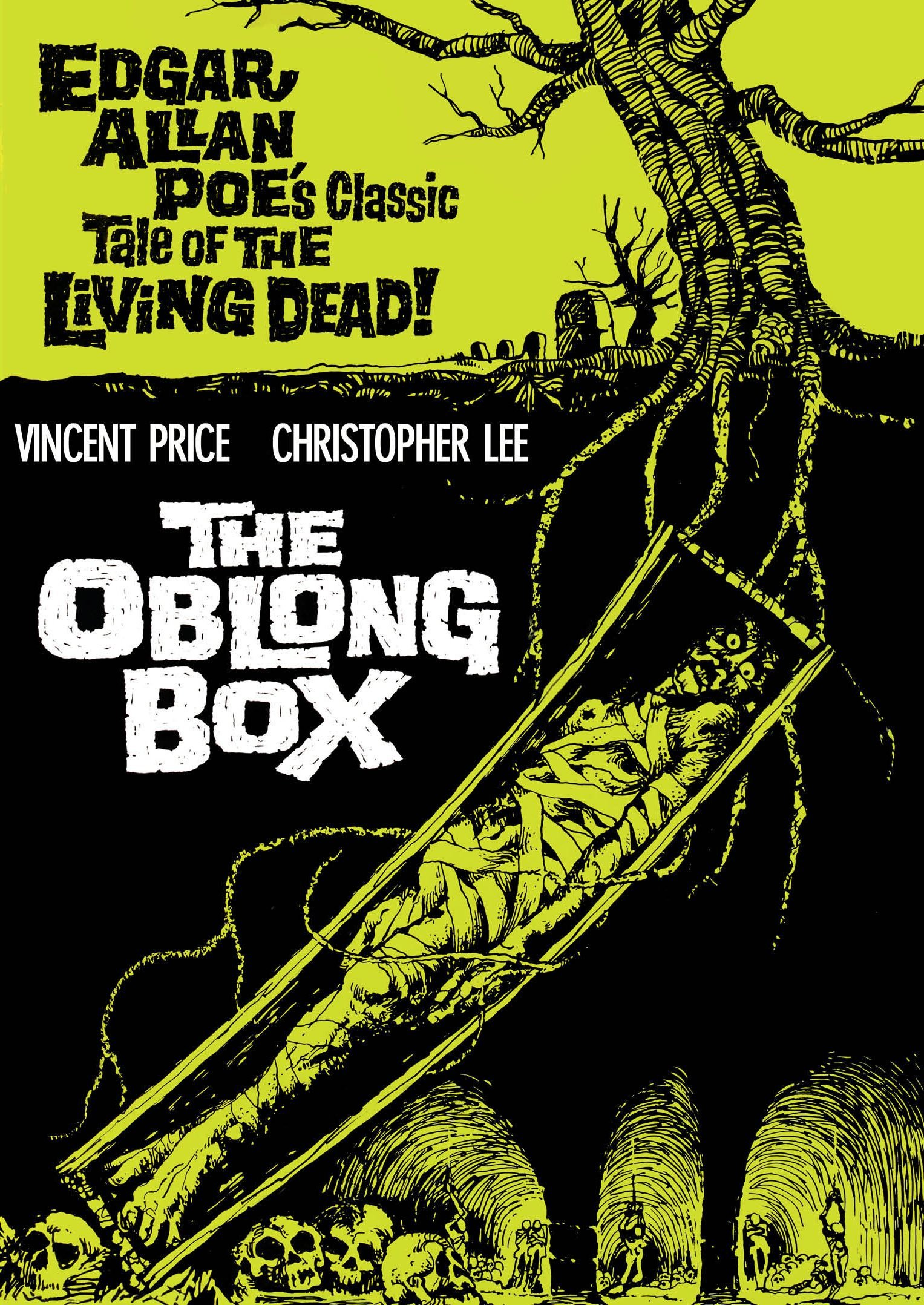 DVD : The Oblong Box (Remastered, Digitally Mastered in HD)