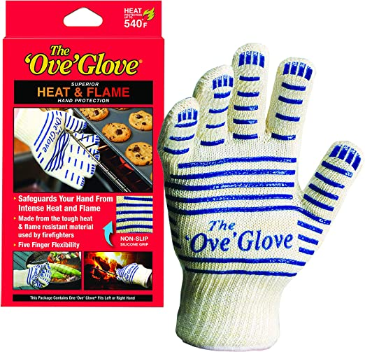1 PAIR Superior HEAT /& FLAME Hand Protection The Ove Glove