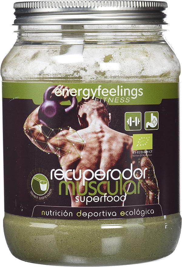 Energy Feelings Recuperador Muscular Eco post-entreno - 750 gr ...