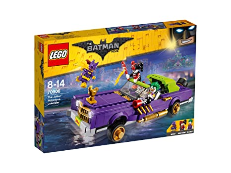 Lego Batman 70906 Coche Modificado De The Joker Modelos Colores