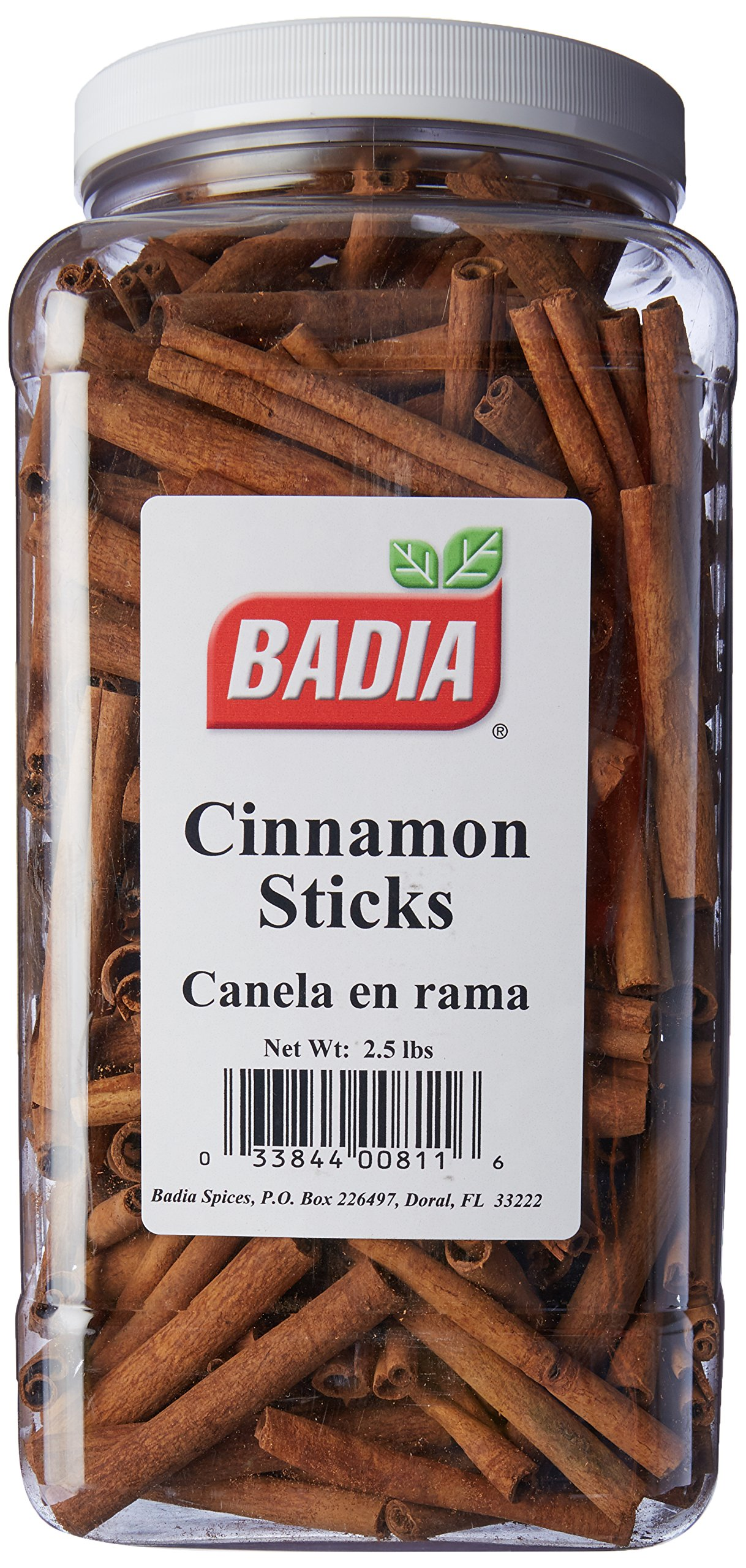 Badia Cinnamon Sticks 2.5 lbs