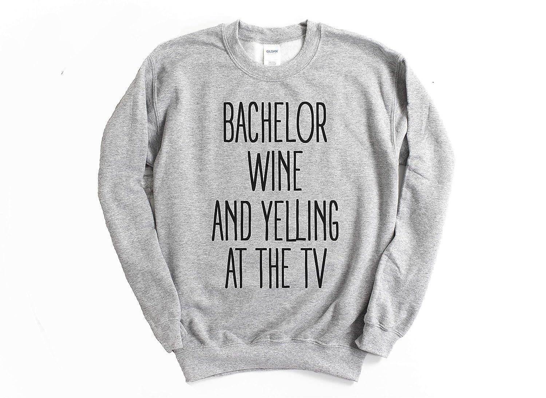 Bachelor Wine and Yelling at the TV Bachelor Show Tank Top bachelor tv show shirts for women Bachelor Wine and Yelling at the Tv the bachelor tv show shirt