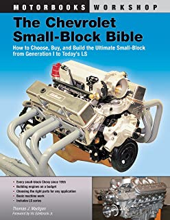Chevy Small Block V8 Interchange Manual Motorbooks Workshop
