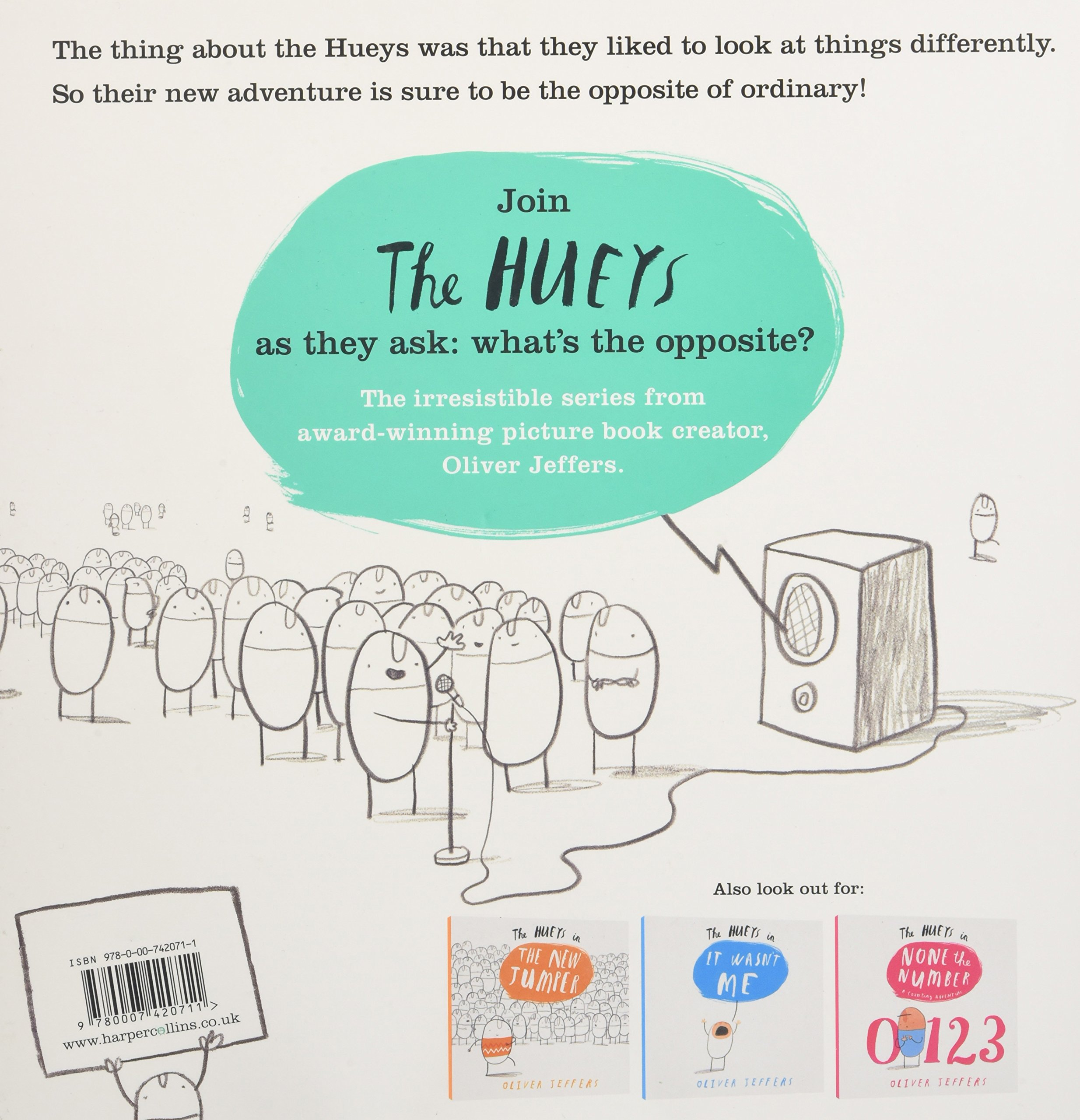 What\'s the Opposite? (The Hueys): Oliver Jeffers: 9780007420711 ...