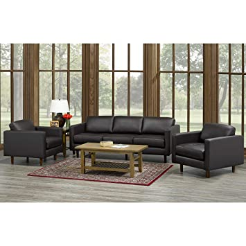 Terrific Amazon Com Overstock Lola Mid Century Modern Chocolate Creativecarmelina Interior Chair Design Creativecarmelinacom