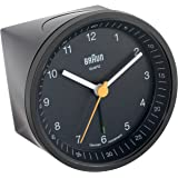 Braun BNC007BKBK Classic Light Analog Quartz Alarm Clock