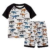 Family Feeling Little Boys Shorts Set Pajamas