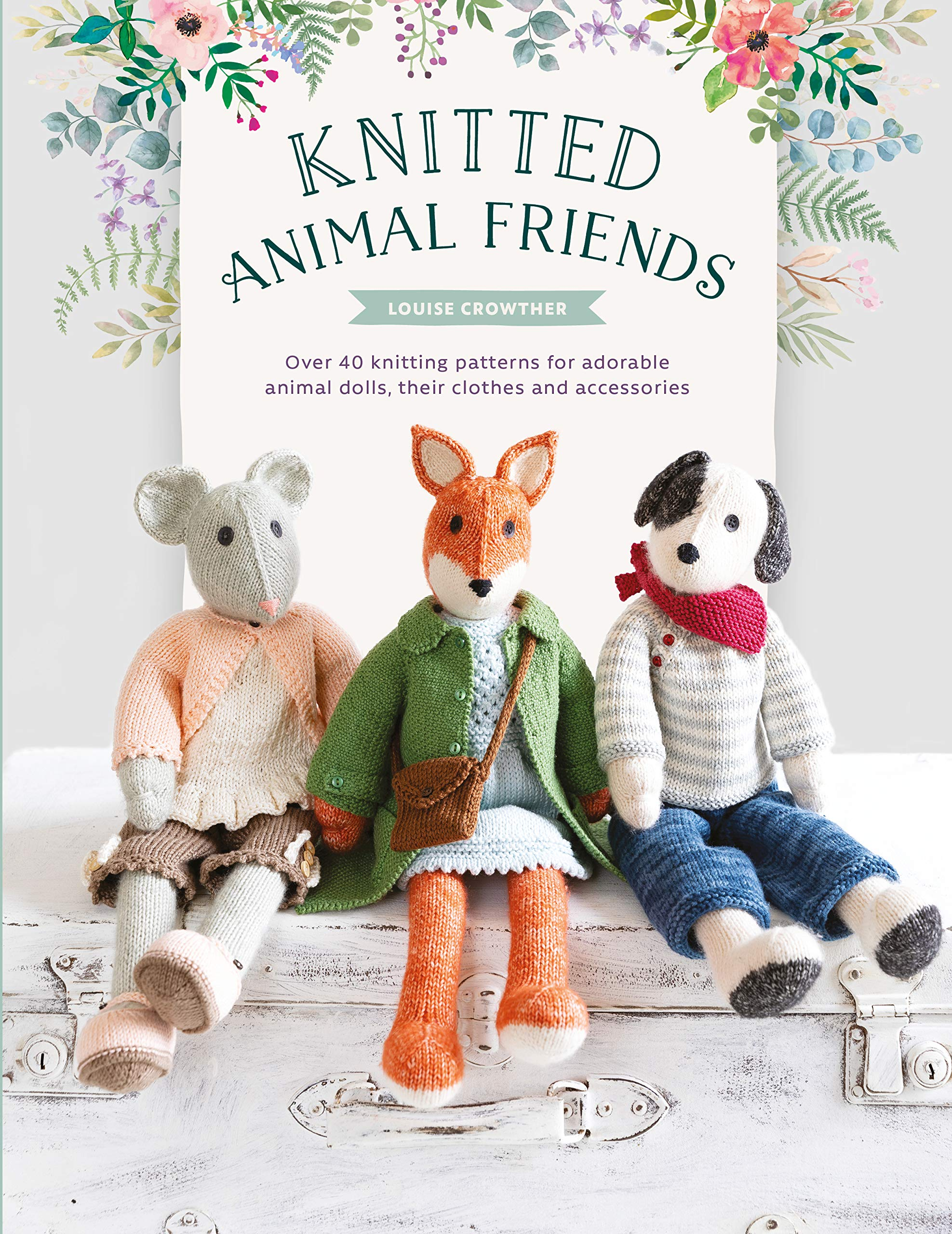 crocheted knitted stuffed plush dog soft animal pattern dog toy doll PATTERN Crochet dog amigurumi toys pdf crochet cartoon toy pattern