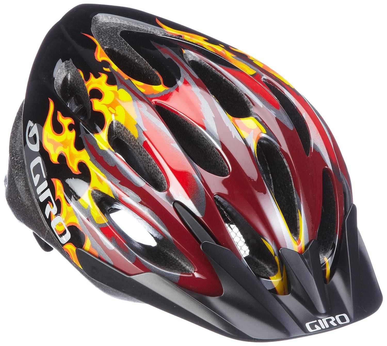 Giro Kinder Fahrradhelm FLUME rot schwarz dragon flames 50 57 cm Amazon Sport & Freizeit