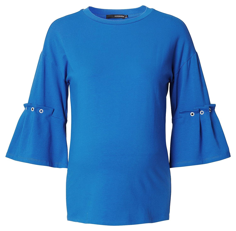 Supermom Damen Umstands-T-Shirt