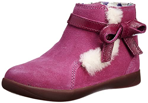 bcbf9a10461 UGG Girls Libbie Toddler Ankle Boot - Raspberry Sorbet - UK KIDS 7 ...