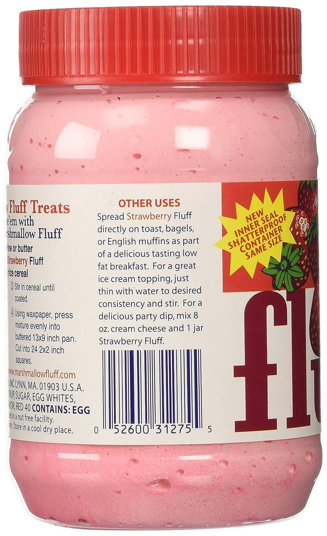 Fluff Marshmallow Creme Strawberry (213g): Amazon.es: Alimentación y bebidas