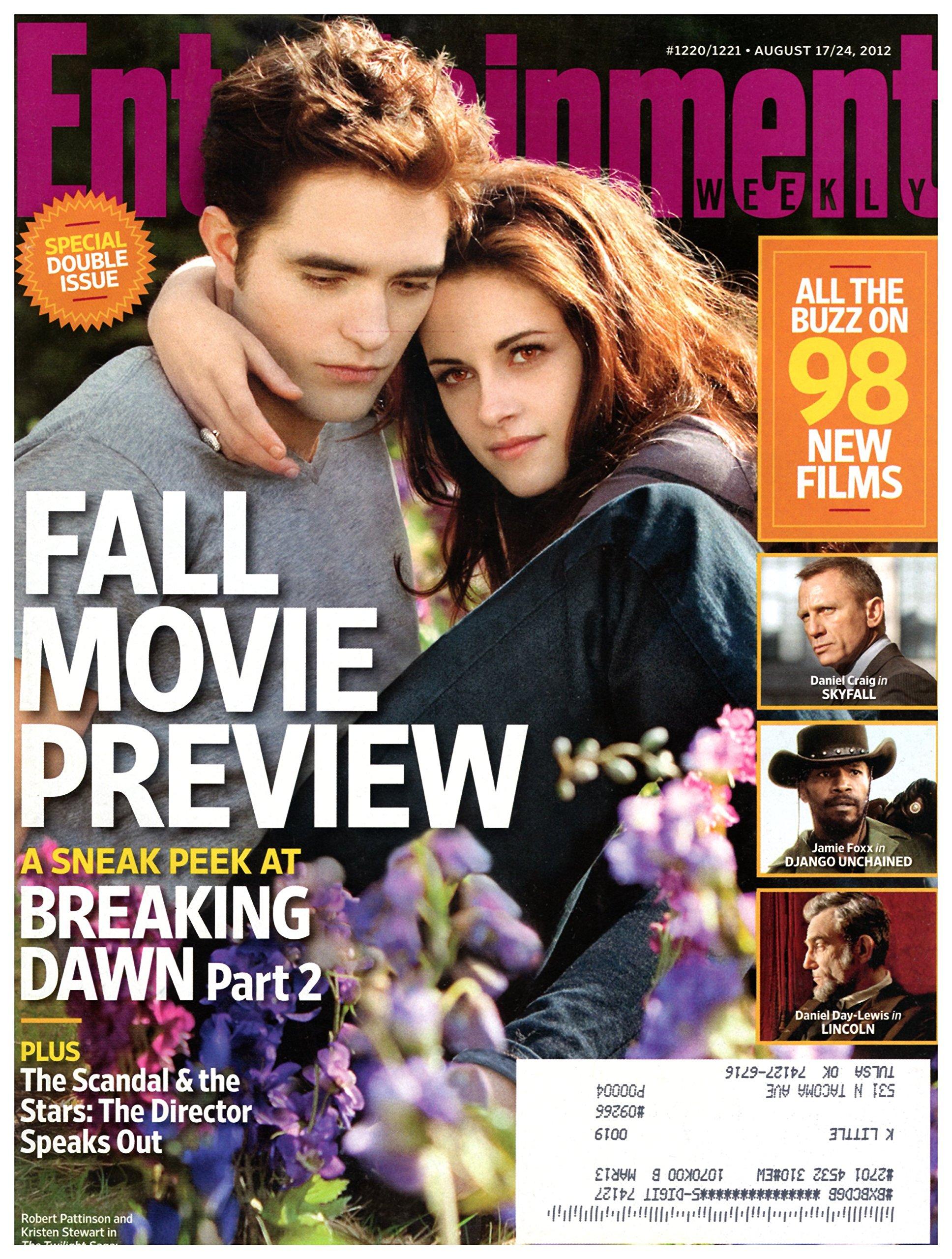 Rob Pattinson i Kristen Stewart z 2012 roku