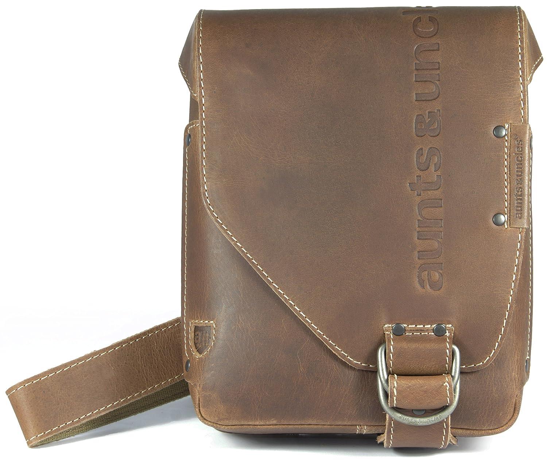 aunts & uncles JADE Postbag S vintage tan, 40549 30