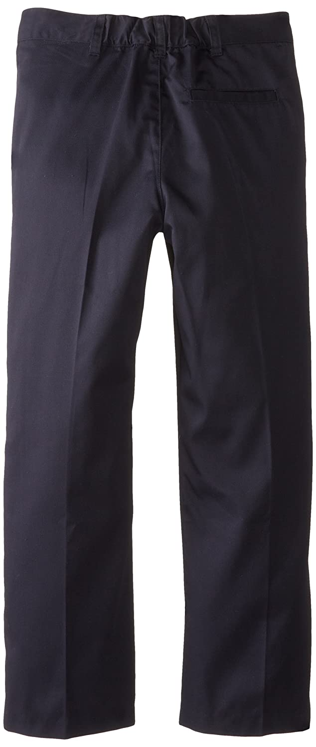Dark Navy CLASSROOM Big Girls  Plus-Size Flat Front Trouser Pant 20.5