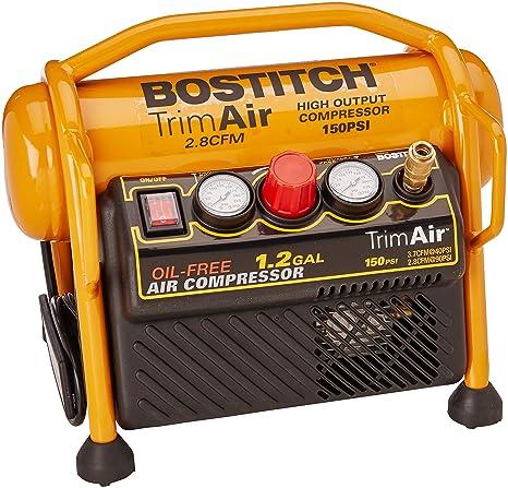 Amazon.com: Compresor Bostitch (CAP1512-OF) de 1.2 ...