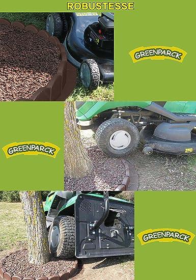 greenparck S1200A En r/ésine composite ANTHRACITE Lot de 8 bordures Vendu /également par lot de 2 et 4