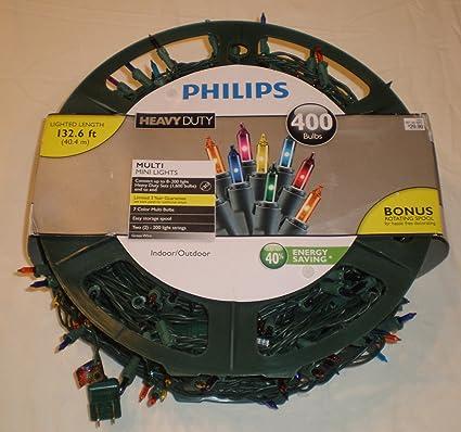 Amazon.com: Philips Heavy Duty Christmas Lights 400 Bulbs: Home ...