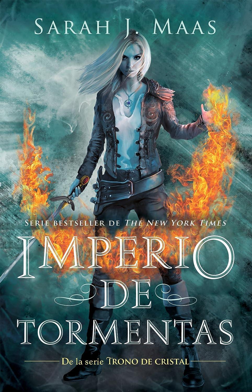 Imperio de tormentas (Trono de Cristal 5) eBook: Maas, Sarah J ...