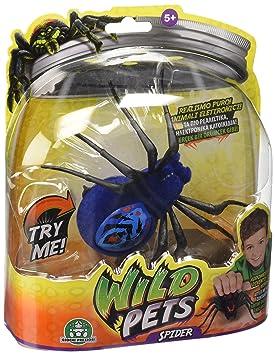 Preziosi Juguete Interactiva Wild Con Araña Giochi Pets Luces Led PNO8n0wkX