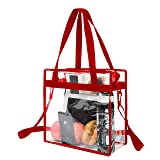 BAGAIL NFL and PGA Stadium Approved Clear Tote