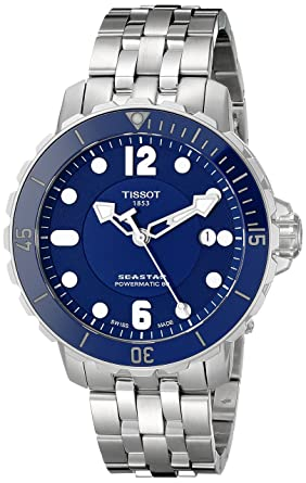 Image Unavailable. Image not available for. Colour  Tissot Seastar 1000  Powermatic 80 Mens Watch 42 mm Automatic Stainless Steel Bracelet ... d024ded90a7