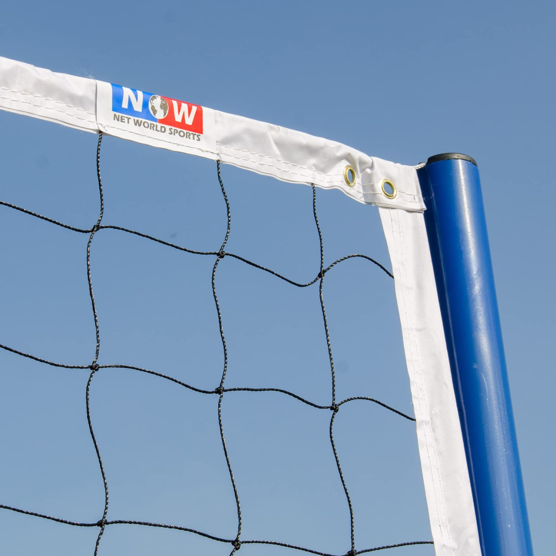 Freestanding Badminton/Volleyball Combi Posts [Optional Nets]   Portable Steel Posts : Sports & Outdoors