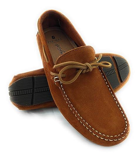 228e797ad8e0 Zerimar Zapatos de Piel para Hombre Zapatos Hombre Elegantes Calzado Hombre  Vestir Color Camel Talla 41: Amazon.es: Zapatos y complementos