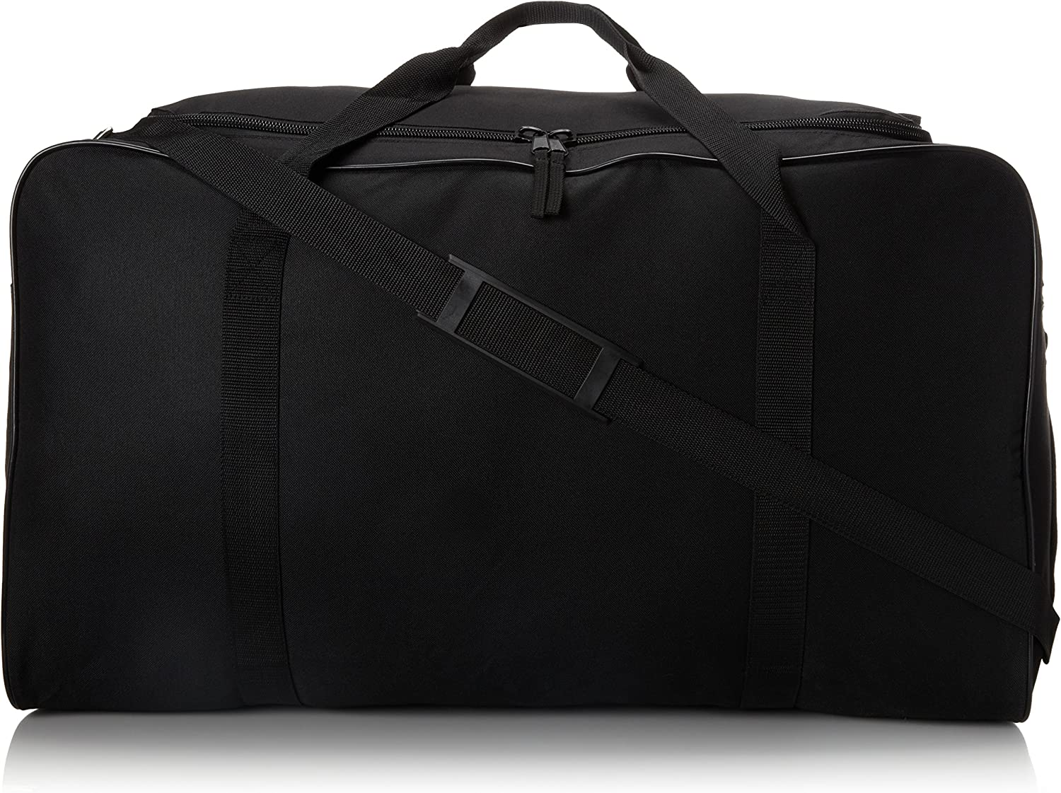 Proguard Coaches Hockey Sports Equipment Duffel Bag with Shoulder Straps | Large, Black 28-Inch : Hockey Bags : Sports & Outdoors