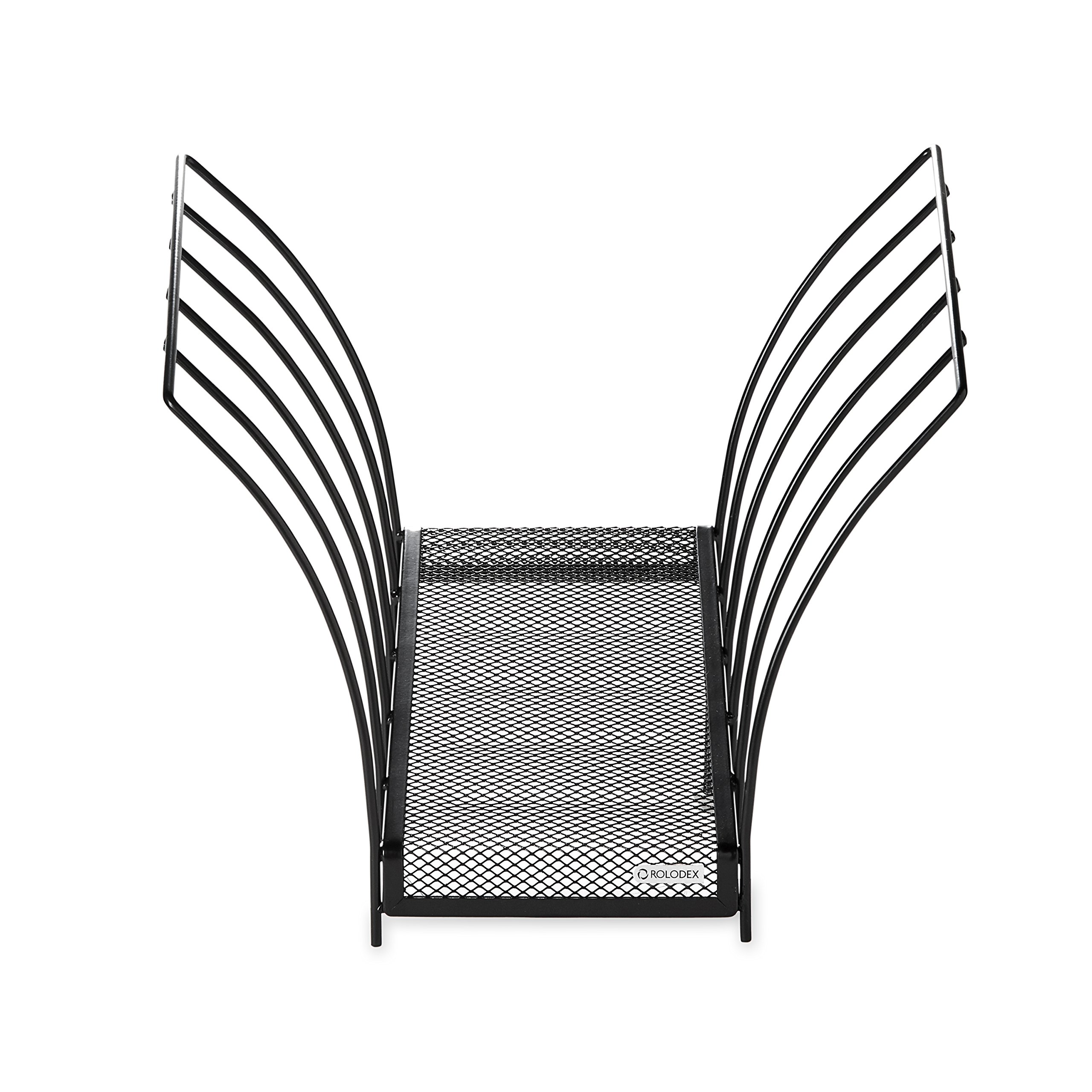 Rolodex Mesh Collection Butterfly File Holder, Letter-Size, Black (1742326)