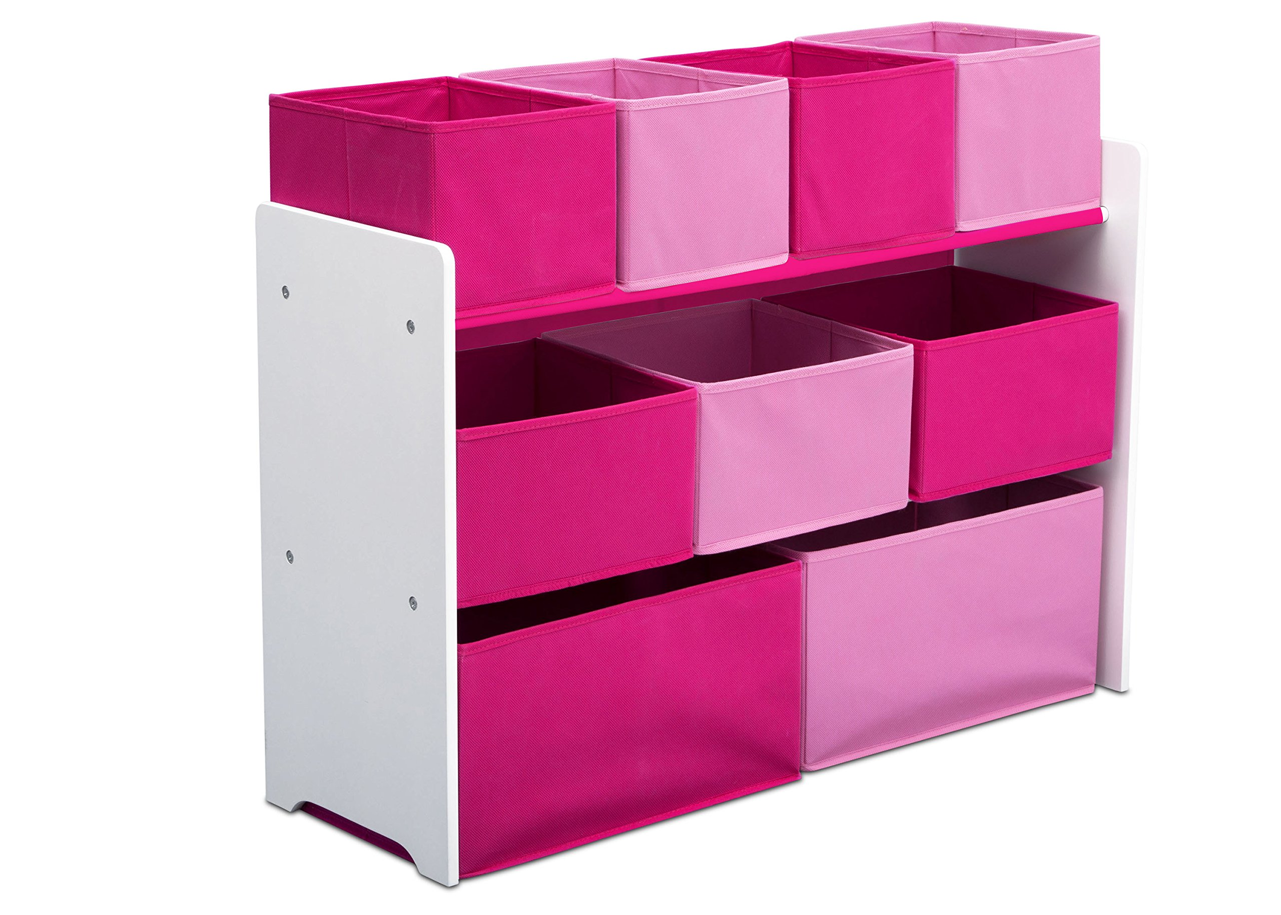 Minnie Mouse Bedroom 3 Drawer Storage Kids Wooden Box Pink: Amazon.com: Kid's Cushioned Storage Bench With 3 Basket