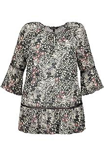 Femme Imprimée Ulla Grandes Popken Tunique Tailles Graphique Kl1TFcJ3