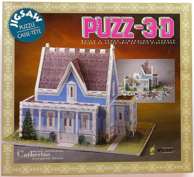 【送料無料キャンペーン?】 Puzz-3D Catherine Victorian Puzzle House Jigsaw B0018CIVJ6 Catherine Puzzle B0018CIVJ6, クニスポ!:2f0f2478 --- quiltersinfo.yarnslave.com