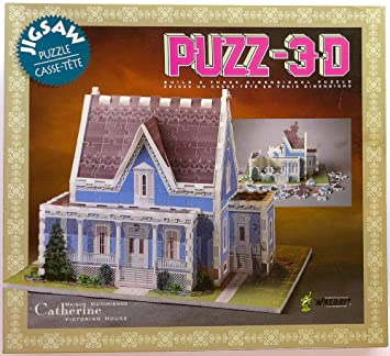 28dc636a909 Buy Puzz-3D Catherine Victorian House Jigsaw Puzzle Online at Low Prices in  India - Amazon.in
