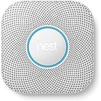 Nest Protect 2. Generation, Rauchmelder und Kohlenmonoxid, (batteriebetrieben)