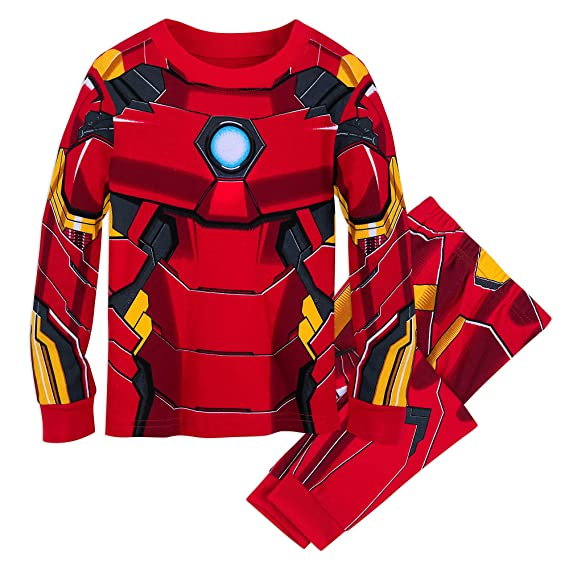 Marvel Iron Man Costume PJ PALS for Kids