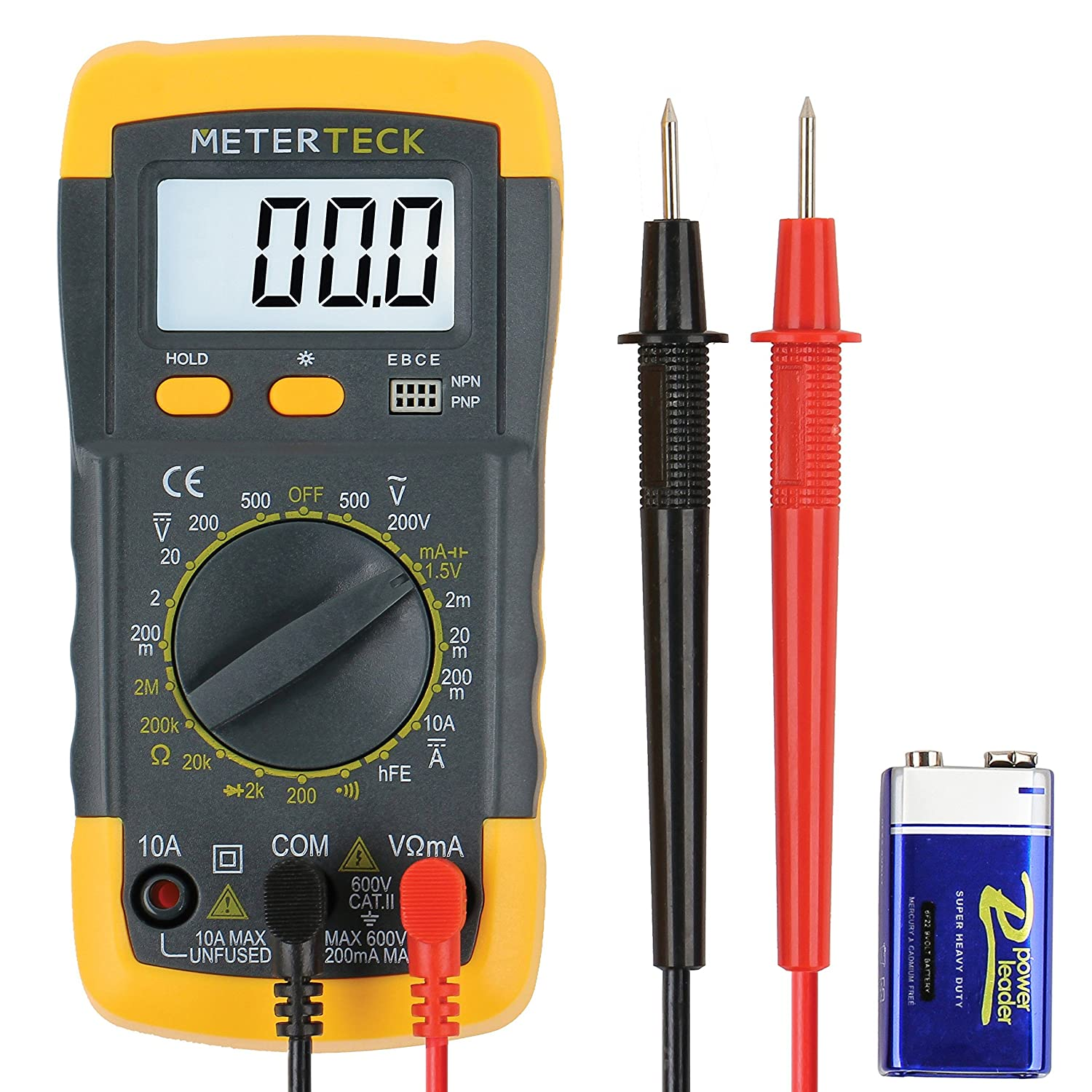 Digital Multimeter Meter Reading : Digital multimeter electrician automotive accurate reading