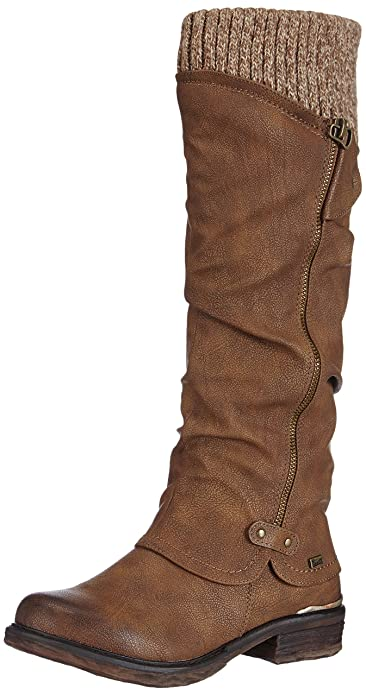 100% top quality low cost hot-selling professional Rieker 98956-25, Women's Knee-High Boots