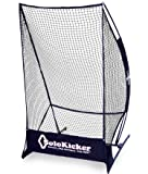 """Bownet 7'4"""" x 4' Portable Solo Kicker Punting and Kicking Practice Net, Black"""