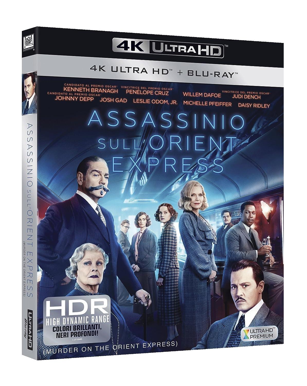 Assassinio sull Orient Express (4K UHD + Blu-Ray)  Amazon.it  Kenneth  Branagh c8567aa308d