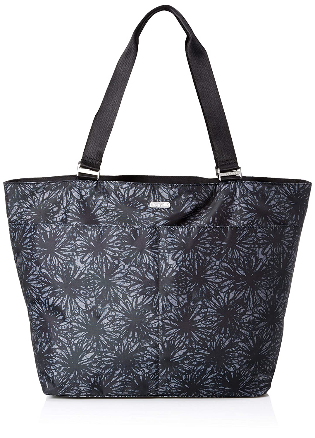 Baggallini ユニセックスアダルト One Size Onyx Floral B07K39NJTF