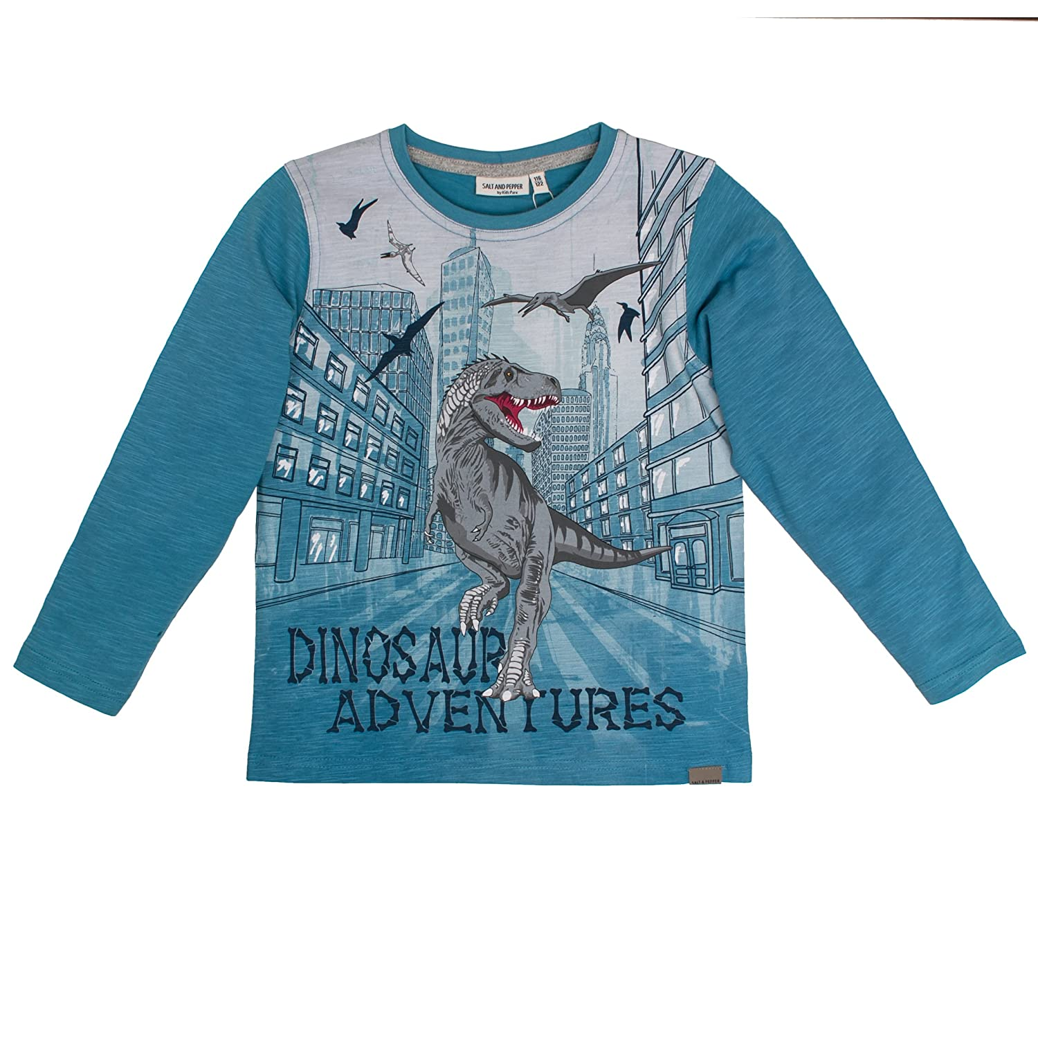Salt & Pepper Longsleeve Wild Ones Photo, Maglietta a Maniche Lunghe Bambino SALT AND PEPPER 85111185