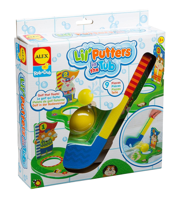 Alex Toys Rub-a-Dub Bath Putters Golf in the Tub Bath Toy: Amazon.co ...