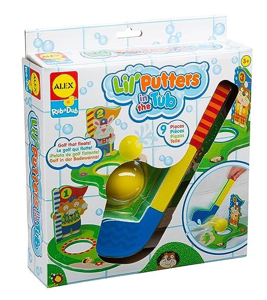 ALEX Toys Rub a Dub Bath Putters Golf in the Tub