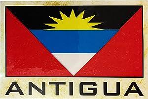 Flag Fridge Refrigerator Magnets - Americas (Country: Antigua)