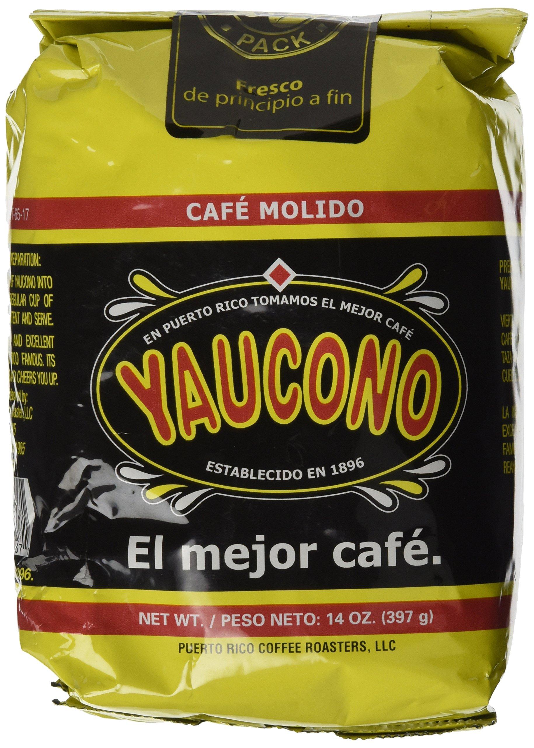 Cafe Yaucono Ground Coffee 14oz