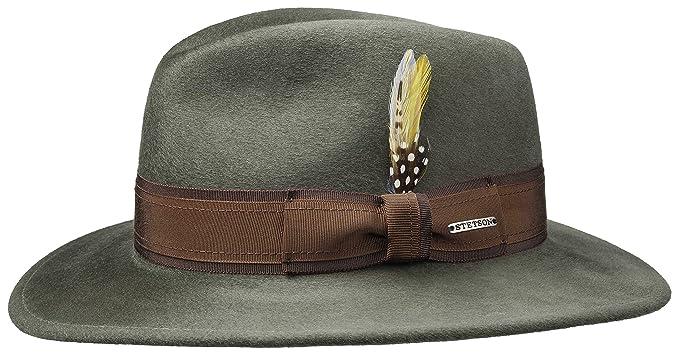 5833aafda0f85 Stetson - Sombrero de vestir - para mujer  Amazon.es  Ropa y accesorios