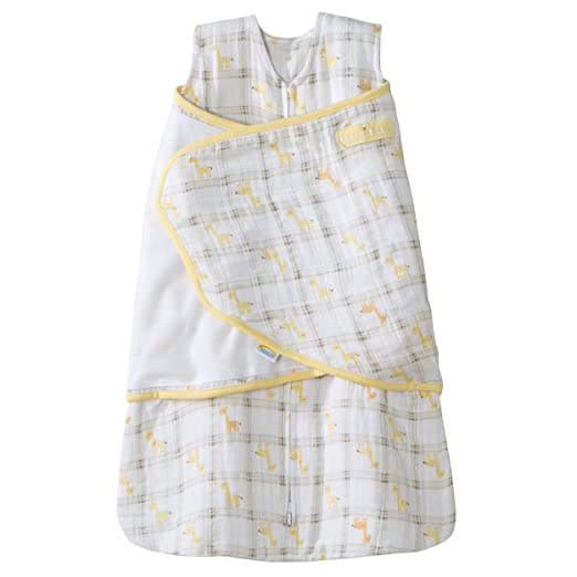 Amazon.com: HALO 100% Cotton Muslin Sleepsack Swaddle, Giraffe Plaid, Small: Baby